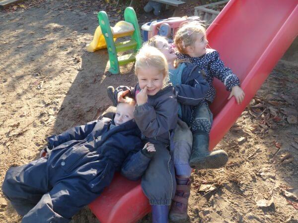 glade børn